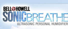 Bell + Howell - Sonic Breathe Personal Humidifier